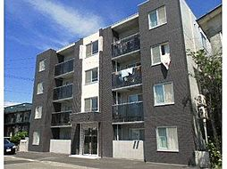 北海道札幌市東区北十八条東17丁目の賃貸マンションの外観