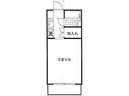 京王ハイツ[2階]の間取り