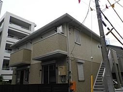 神奈川県川崎市高津区新作6丁目の賃貸アパートの外観