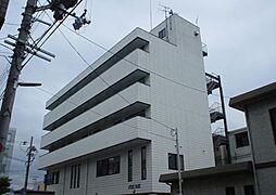 京都府京田辺市田辺中央1丁目の賃貸マンションの外観