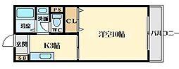 コンフォール垂水[1階]の間取り