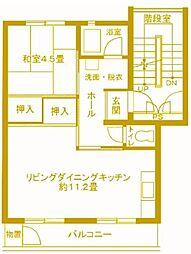 戸塚深谷 26号棟[5階]の間取り