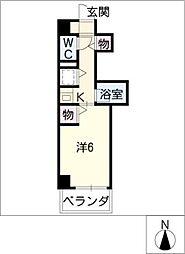レーヴェ K&M[3階]の間取り