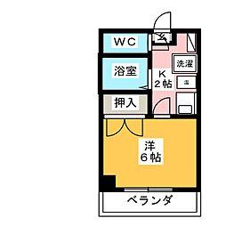 愛知県名古屋市緑区大高町字鷲津の賃貸マンションの間取り