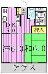 IKI梅郷[3階]の間取り