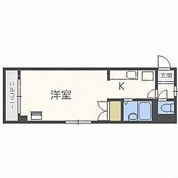 パラシオン本郷[5階]の間取り