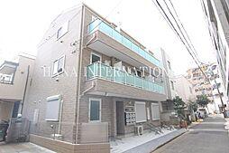 東京都世田谷区上馬5丁目の賃貸アパートの外観