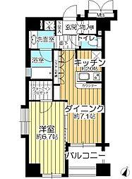 デュオ・スカーラ西麻布タワー[2階]の間取り