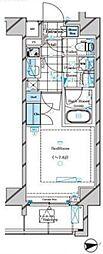 ドムス・スタイル神楽坂(Wi-Fi無料)[704号室号室]の間取り