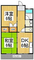綱島マンション[5階]の間取り
