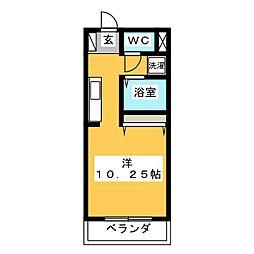 メドウ笠原[3階]の間取り
