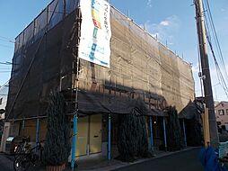 埼玉県草加市松江3丁目の賃貸アパートの外観