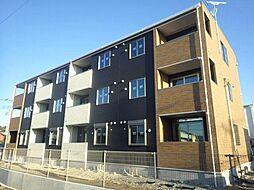 静岡県富士市久沢の賃貸アパートの外観