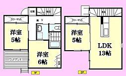 [一戸建] 広島県東広島市八本松飯田4丁目 の賃貸【/】の間取り
