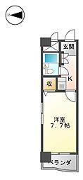 ライオンズマンション丸の内第6[4階]の間取り