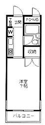 シンプルライフ王子公園[3階]の間取り