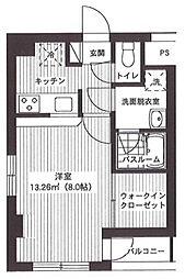 サンライズレジデンス[5階]の間取り