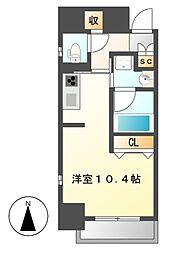 香取町PJ[3階]の間取り