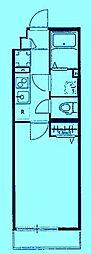 リブリ・馬絹[3階]の間取り