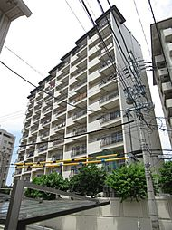 福岡県福岡市中央区谷1丁目の賃貸マンションの外観
