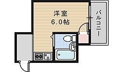 MINTIA今川[5階]の間取り