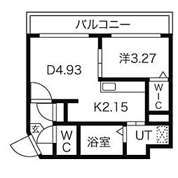 M-SENA(エム−セーナ)麻生[2階]の間取り
