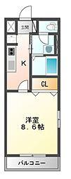 サンコート・FII[1階]の間取り