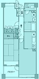 アクシア鷺沼[2階]の間取り