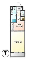 Lani Kai Park(ラニカイパーク)[6階]の間取り