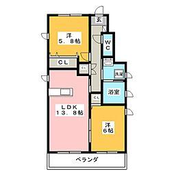 (仮称)黒笹2丁目計画[1階]の間取り