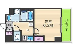 EC梅田北IIゼニス[5階]の間取り