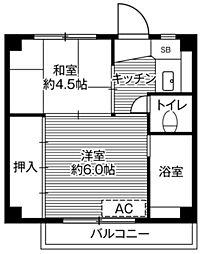 【敷金礼金0円!】ビレッジハウス増穂1号棟
