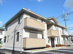 大阪府大阪狭山市池尻自由丘3丁目の賃貸アパートの外観