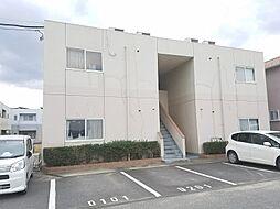 岡山県倉敷市連島町鶴新田の賃貸マンションの外観