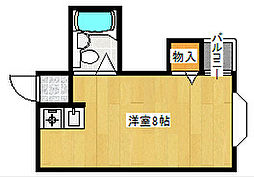 シャイン廣瀬[3階]の間取り