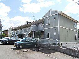 京都府宇治市木幡内畑の賃貸アパートの外観