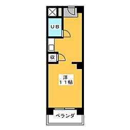 荘園熱田 3B[3階]の間取り