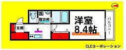 東京メトロ日比谷線 三ノ輪駅 徒歩10分の賃貸マンション 5階1Kの間取り
