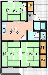 メゾン松本[2階]の間取り