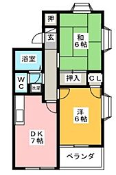 ラベンダー湘南I[105号室]の間取り