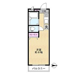 プラドマンション[3階]の間取り