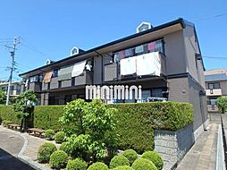 愛知県長久手市桜作の賃貸アパートの外観