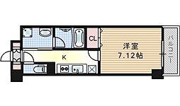 Avanyi Parco西九条[5階]の間取り