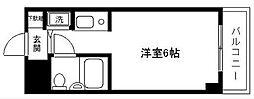 リブゼ横浜南[407号室]の間取り