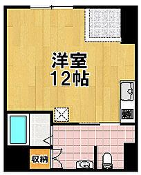 カタダハイツ[1階]の間取り
