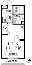 フェアリーシャンテ[3階]の間取り