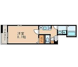 東京都葛飾区四つ木2丁目の賃貸アパートの間取り