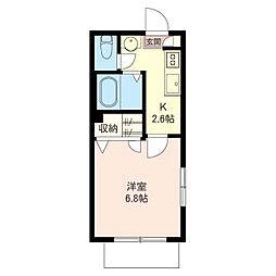 Maison du Coeur(メゾン・ド・クール)[1階]の間取り