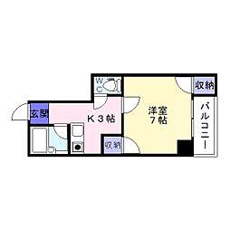 メゾン住吉弐番[2階]の間取り