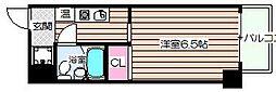 グランディ梅田北[2階]の間取り
